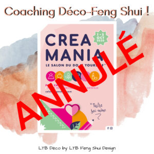 Coaching Déco-Feng Shui à CREAMANIA @ Foire Internationale de Marseille